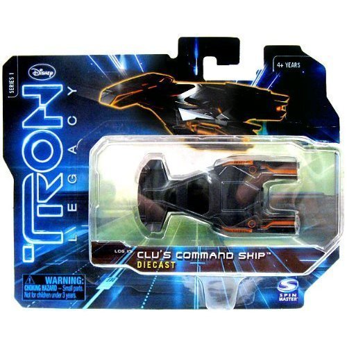 TRON LEGACY CLU'S COMMAND SHIP DIECAST SERIES 1 NEW