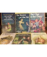 Nancy Drew Lot of 6 Matte 1 4 7 18 22 25 Ovals - $16.99