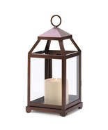 Bronze Contemporary Lantern - $25.00