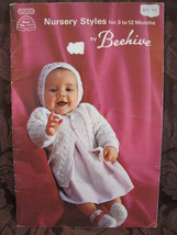 Vintage Patons Knitting Crochet Patterns BABY Outfits Sweaters Dresses B... - $5.99