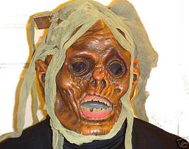 Zombie Ferocious Fangs Halloween Mask Latex Adult Mask - $12.95