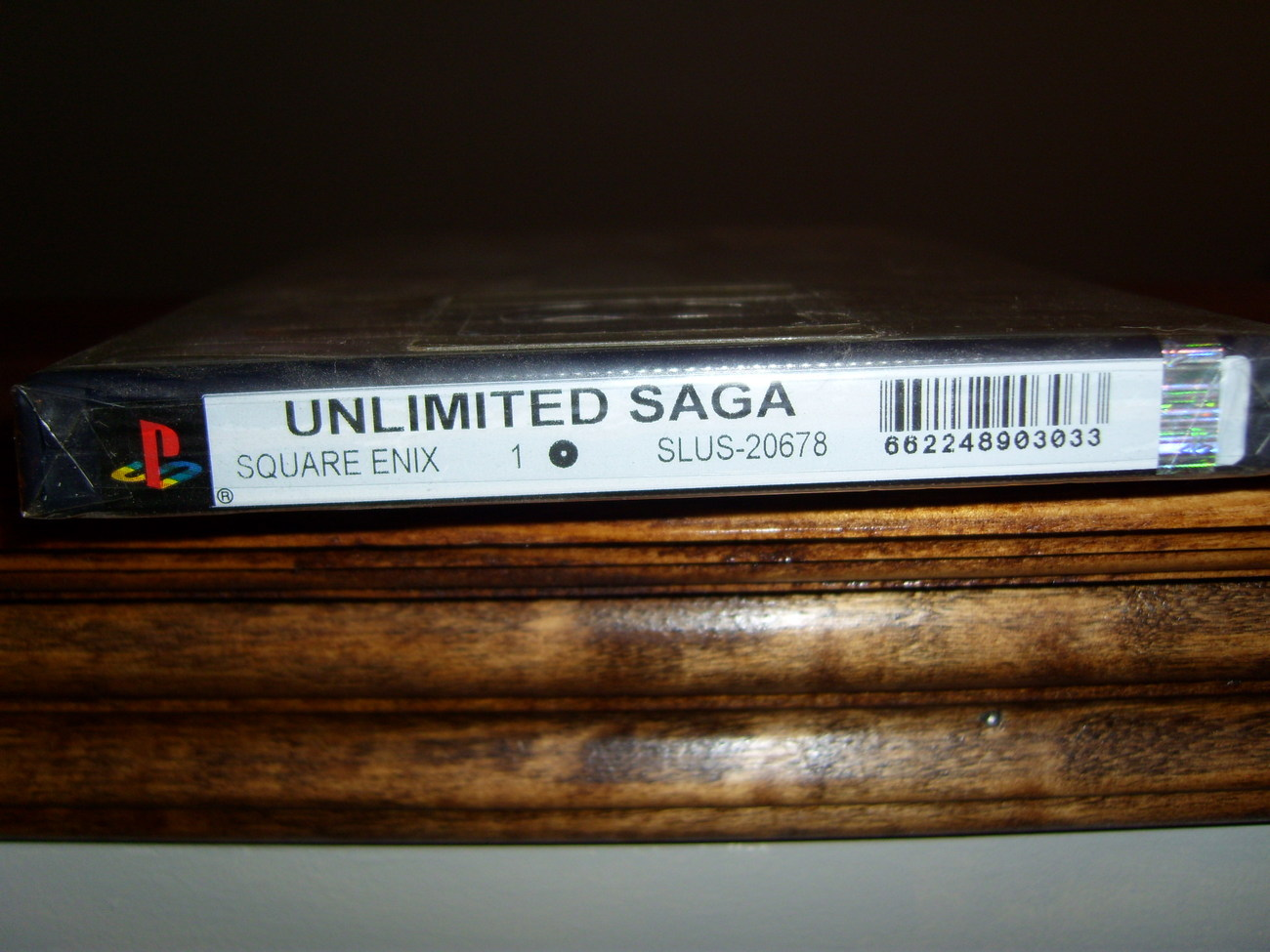 Unlimited Saga Playstation 2 game brand new and sealed!