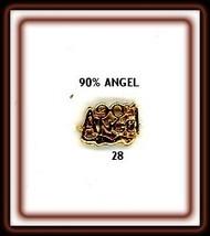 24K gp Nail CHARM Top Nail Art Gold Decoratio One 90% ANGEL...#28 - $4.68