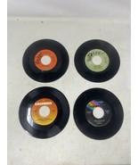 Lot 4 70s Female 45s-Barbra Streisand Carly Simon Helen Reddy Olivia New... - £10.42 GBP