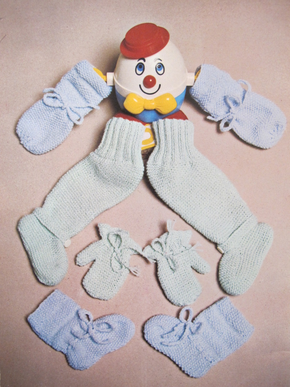 Vintage Patons Knitting Crocheting Patterns Hats Mitts Bootees etc TOTS TODDLERS