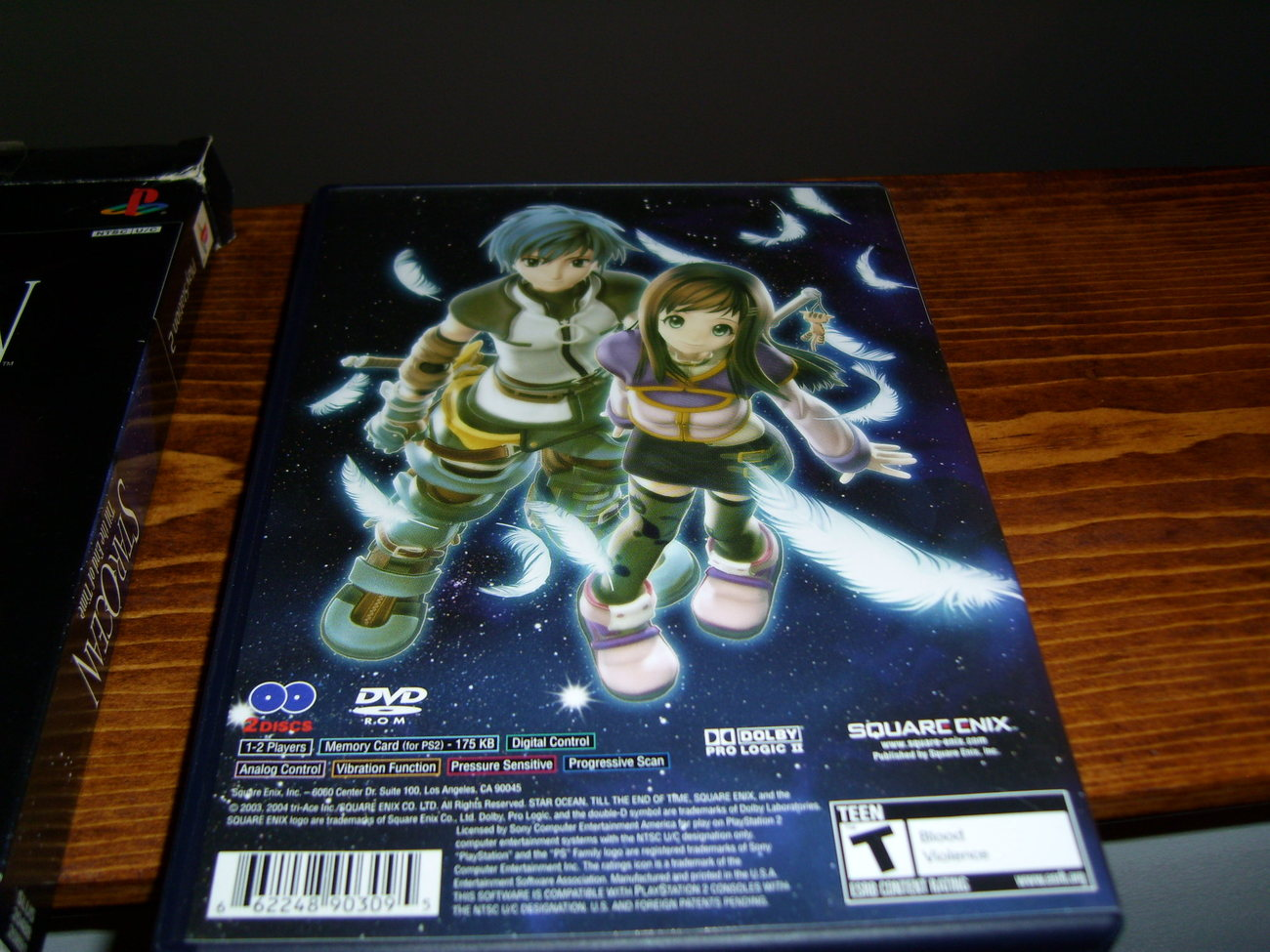 Star Ocean Til the End of Time PS2 game Playstation 2