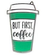 But First Coffee - Hard Enamel Pin (Cloisonne Pin) [Hardcover] Inc. Pete... - $9.99