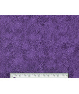 Bright Purple Neon Fabric, cotton quilting quil... - $7.48
