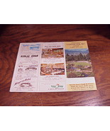 1964 Vancouver, BC Canada Visitor Fun Map, with ads - $5.95