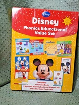 Disney Phonics Educational Value Set w/ Books, Pens, Flash Cards - $14.84