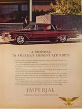 1962 Chrysler Imperial Crown Four Door Southhampton Attorney & office Pr... - $9.99