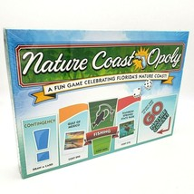 Florida's Nature Coast Opoly Monopoly for the Gulf Coast Fishing Swim New Sealed - $24.95