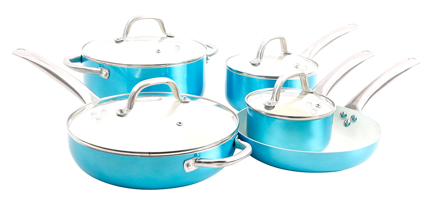 Oster Montecielo 9pc Aluminum Cookware Set, and 29 similar items