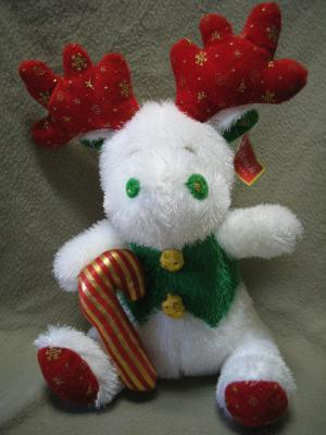 Softouch Toys Stuffed Christmas Holiday Reindeer NWT