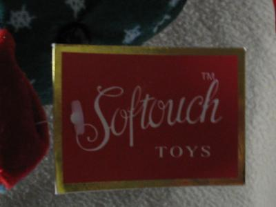 Softouch Toys Stuffed Christmas Holiday Rocking Horse
