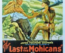THE LAST OF THE MOHICANS, 15 Chapter Serial - $19.99