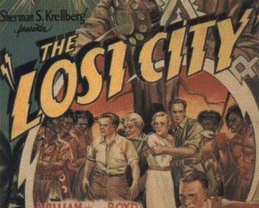 Primary image for THE LOST CITY, 12 Chapter Serial