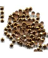 720 3mm GOLD RHINESTUDS  Hot Fix Iron on 5 Gross - $8.75
