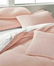 Calvin Klein Modern Cotton Julian Full Queen Duvet Cover New w tags Pink... - $136.79