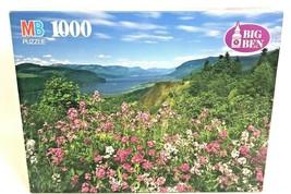BIG BEN 1000 Piece Jigsaw Puzzle Columbia River Gorge Oregon Mountain Landscape - $14.84