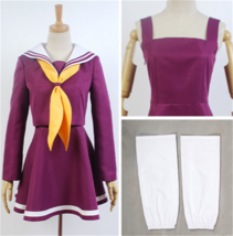 No Game No Life Shiro Cosplay Costume Shiro Kuuhaku Dress Halloween Outfit - $48.99+