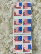 20 USPS Forever Stamps US 2017 US FLAG FOREVER Postage USA 20 per Book - $19.79