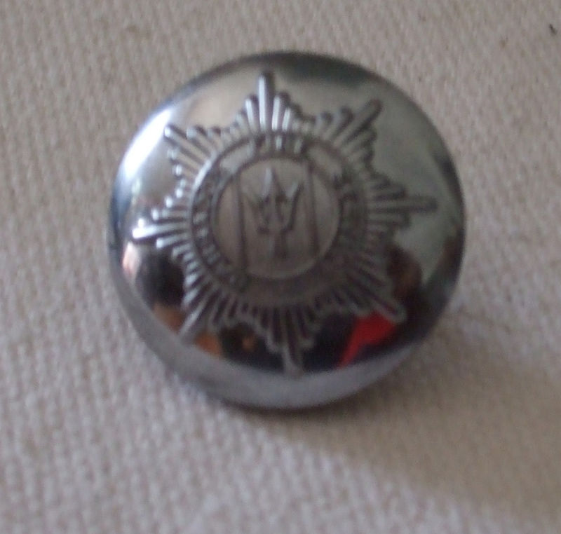 Barbados Military  Button