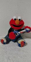 Elmo Rock and Roll Elmo Guitar Playing 1998 Tyco Tested and Working Batteries IN - $22.43