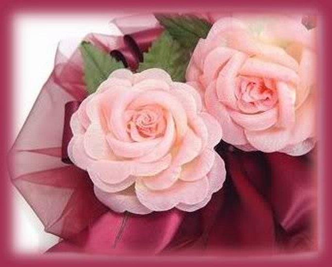 34 Pink Silk Rose Favors 3 inch Wedding or Party Decor New Bonanza