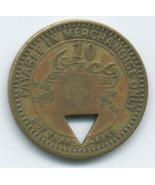 S34 - 10 Cent Ajax Coal  Company Scrip - Fayette, WV - €8,77 EUR