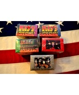 "KISS CORNERSTONE SERIES ""2"" TRADING CARDS 5 SEALED - $225.00"