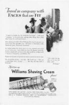 1927 Williams Shaving Cream  2 Vintage Print Ads - $2.50