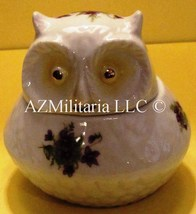 Lefton Porcelain Owl Trinket Box STK# 1958 - $15.75