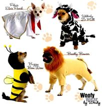 S2839 Pelvis Elvis Pooch + More Woofy Wear Costumes Pattern  - $16.00