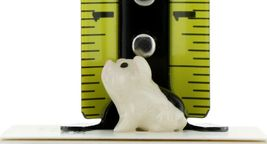 Hagen Renaker Miniature Pig Black and White Baby Piglet Sitting Ceramic Figurine image 3