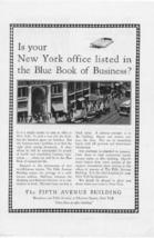 1927 Fifth Avenue Building New York 3 Vintage Ads - $2.50