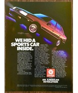 1985 Dodge Lancer PRINT AD We Hid a Sports Car Inside - $10.69