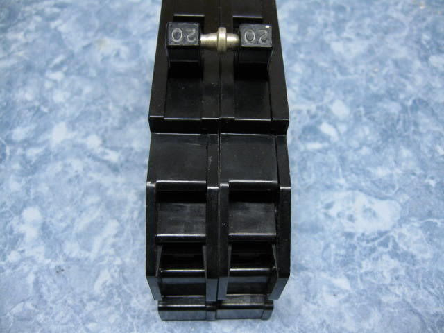 """20A ZINSCO or GTE Sylvania Double or 2 Pole 20 Amp 1-1/2"""" wide BREAKER  Q or QC"""