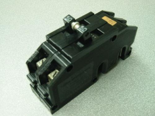 zinsco or gte sylvania 50 amp 2 pole breaker type q