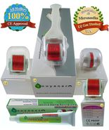 NEW Youyaner 4 in 1 Microneedle Derma Roller Kit + Numb Cream + How-to G... - $51.99