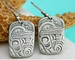 Aztec eagle bird symbol earrings cuauhtli pewter thumb155 crop