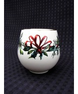 LENOX WINTER GREETING Votive Cache Candle Holder ~ Christmas - $12.00