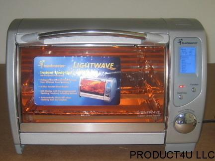 Toastmaster Tlwtob6 Lightwave Toaster Oven W Halogen