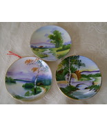 Set of 3 Miniature Plates - $5.00