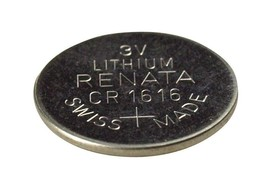 2pc New CR1616 Renata Replacement Watch Battery Swiss Lithium Coin 3volt - $4.78