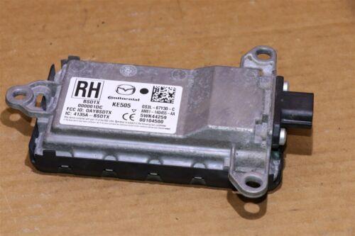 Mazda Blind Spot Sensor Monitor Rear Right RH GS3L-67Y30-C