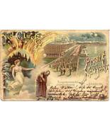 Prosit Neujahr in Hamburg Post Card - $12.00