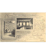 Gruss aus Carl Bans Klub Vintage 1907 Post Card - $15.00