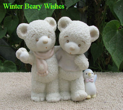 Winter Beary Wishes Favorite Things 96 Enesco Figurine - $24.99