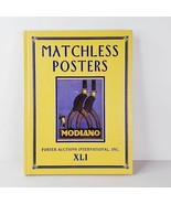 Matchless Posters Auction Book XLI Sunday November 13 2005 Poster Auctio... - $19.99
